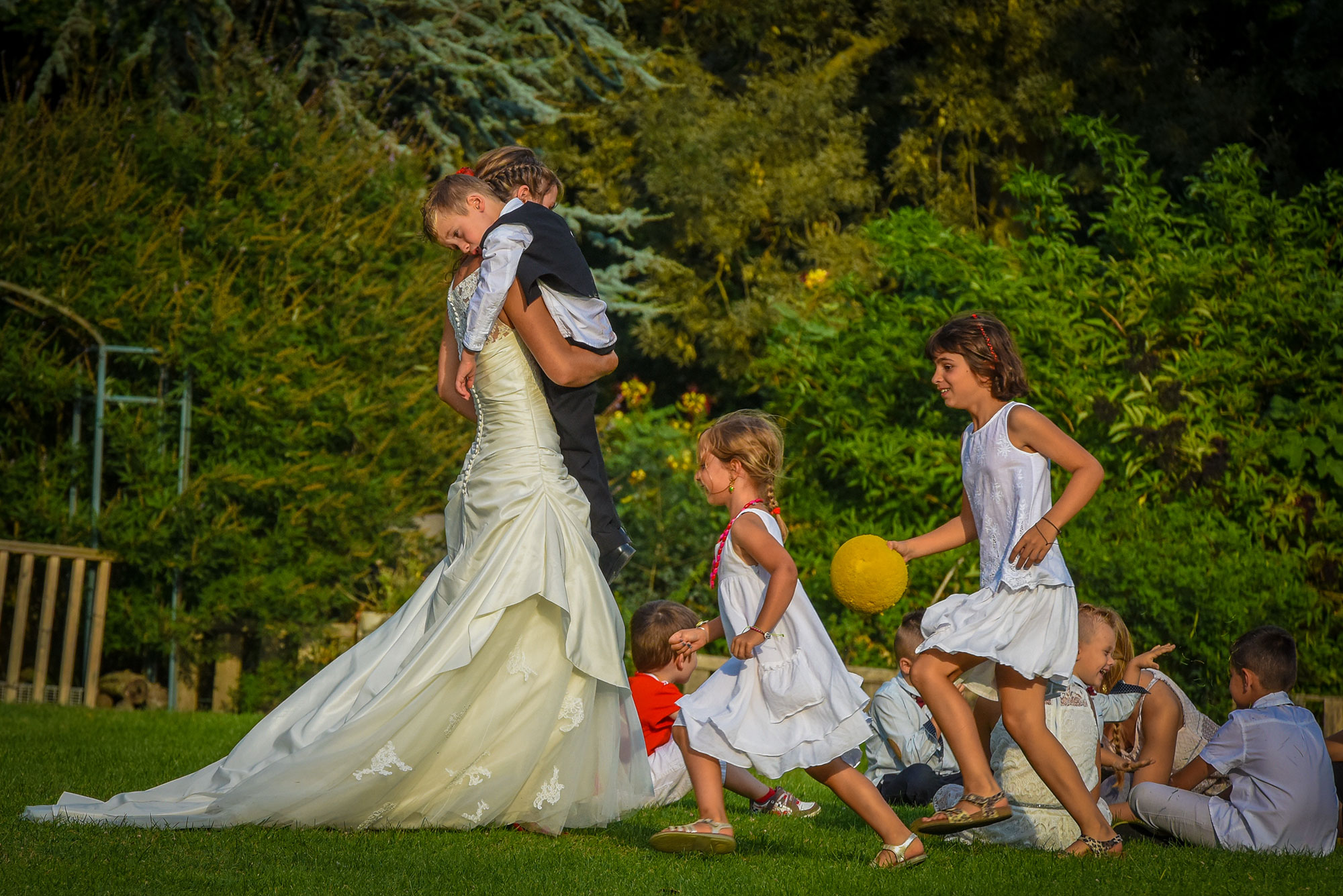 Photos mariage - Vin d'honneur