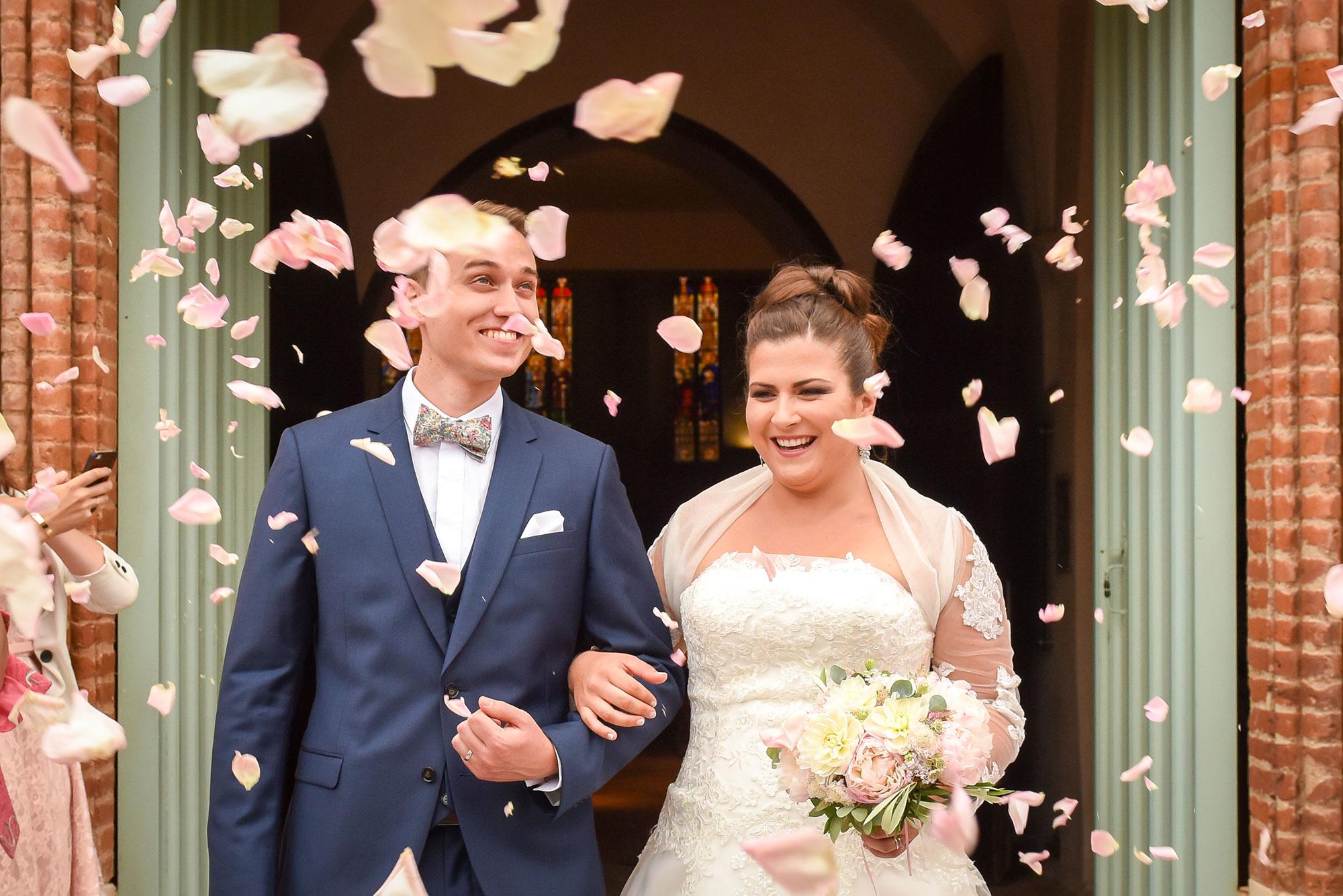 Photos mariage - Sortie église